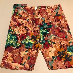 Lularoe Tall and Curvy floral leggings, TC